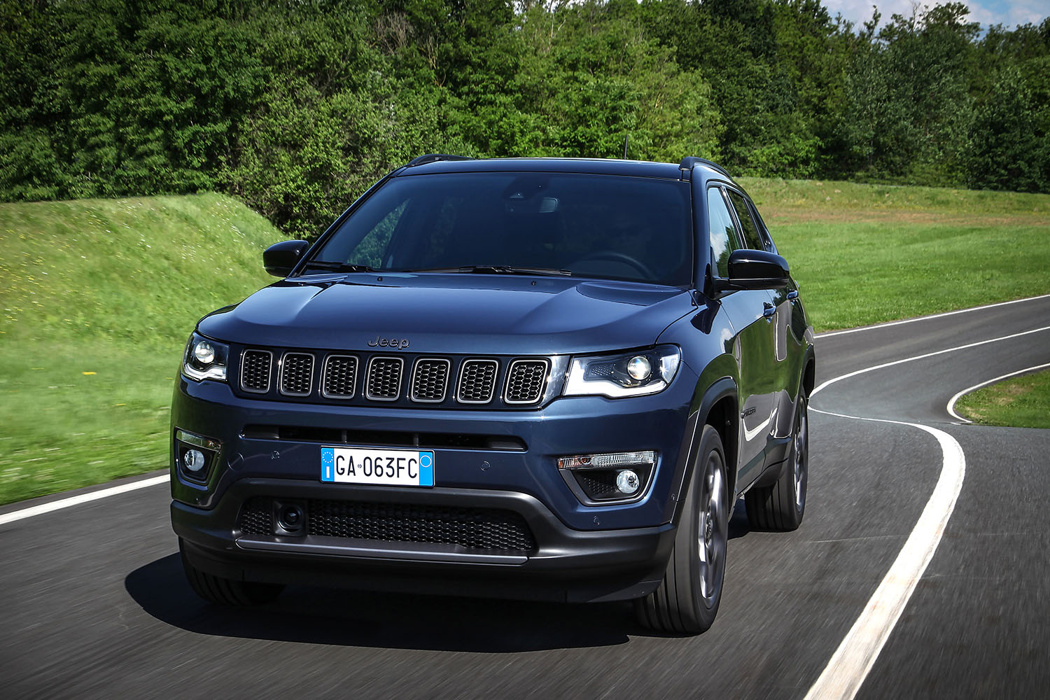 jeep compass night eagle 2020 voorkant