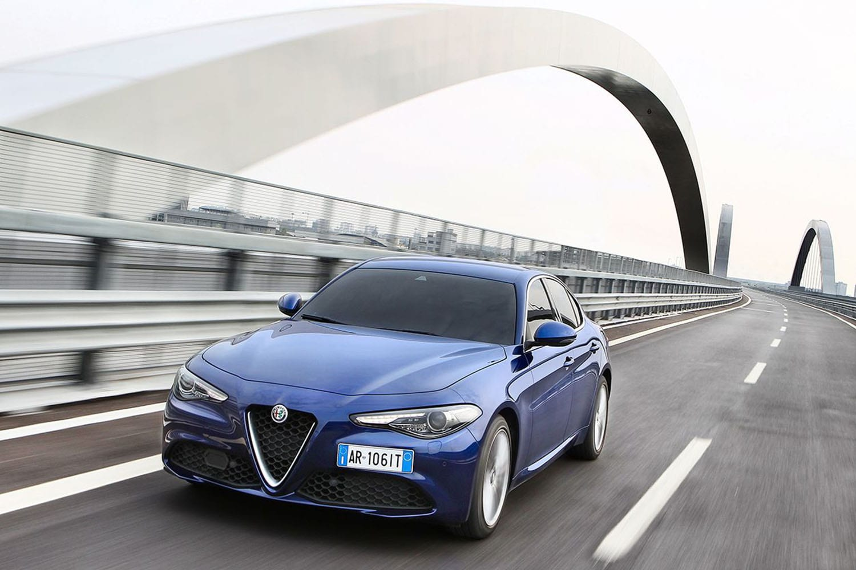 Alfa Romeo Giulia exterieur