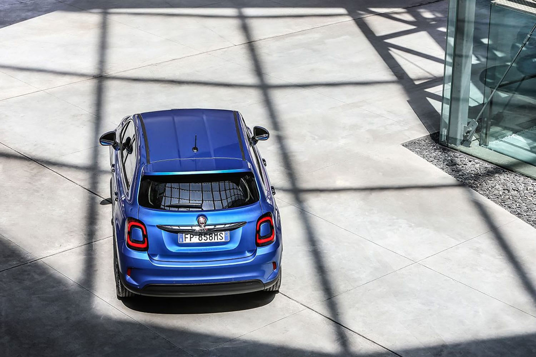Fiat 500X bovenaanzicht achterkant