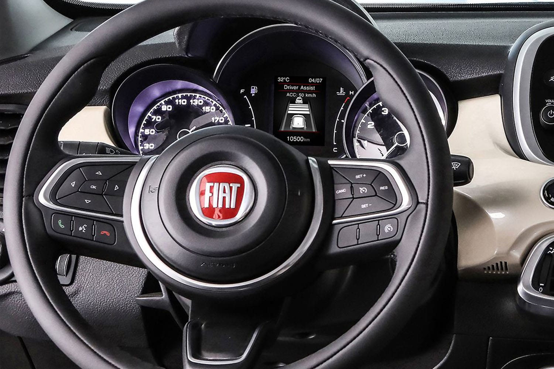 Fiat 500X interieur stuur