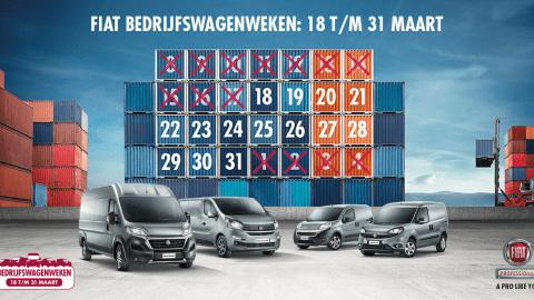 Afbeelding voor Fiat Bedrijfswagenweken bij AutoWinkel van start gegaan!