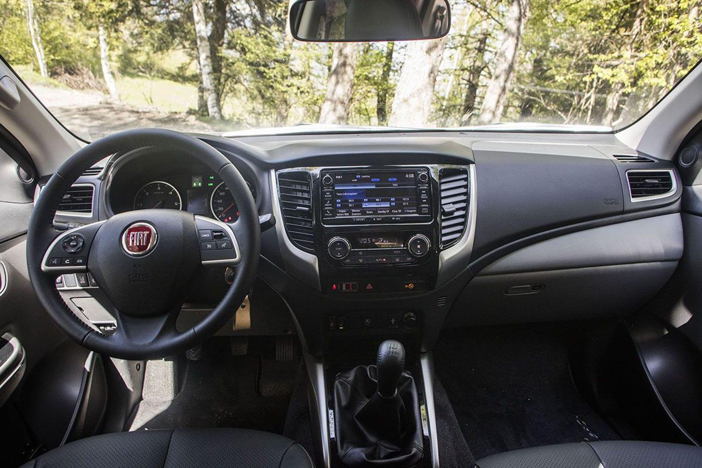 Fiat Fullback intereur