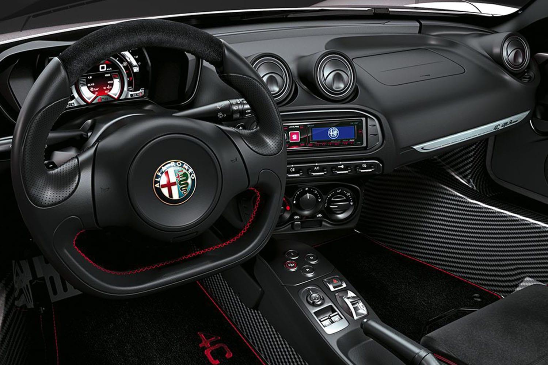 Alfa Romeo 4C Spider interieur