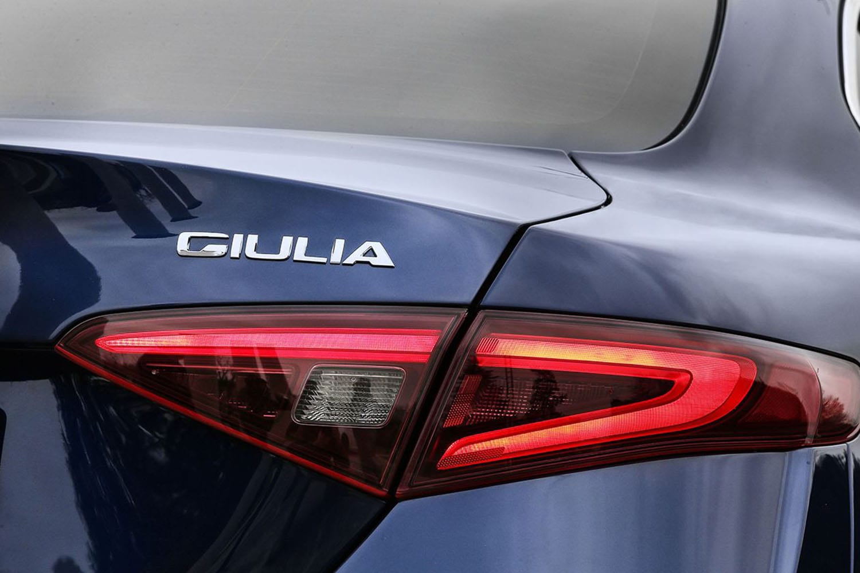 Alfa Romeo Giulia achterlicht