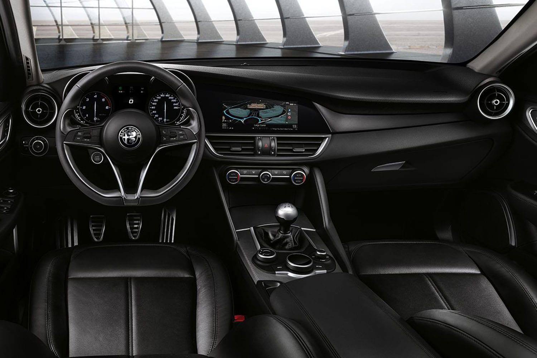 Alfa Romeo Giulia interieur