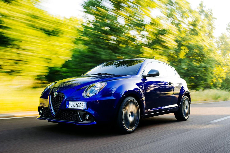 Alfa Romeo Mito voorkant zijaanzicht