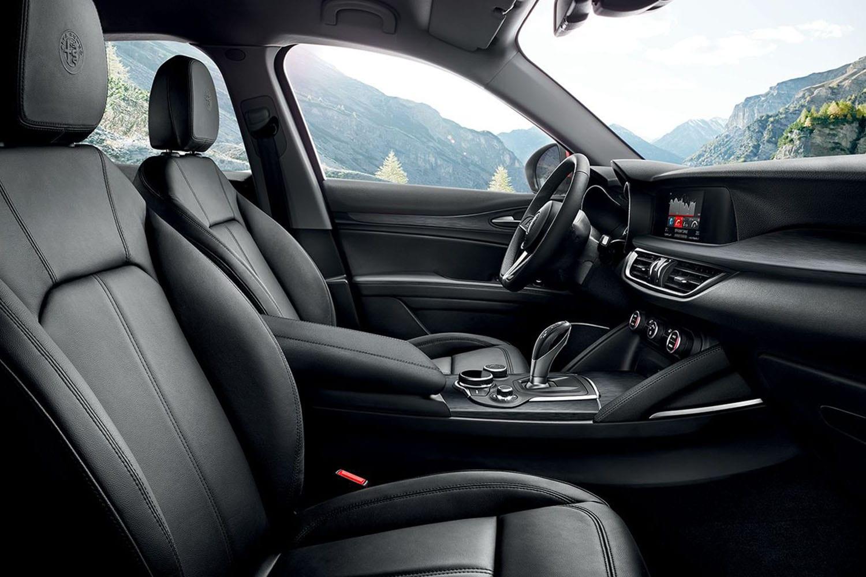 Alfa Romeo Stelvio interieur