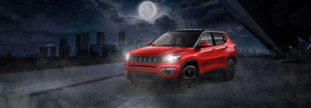 Jeep Compass Night Eagle extieur