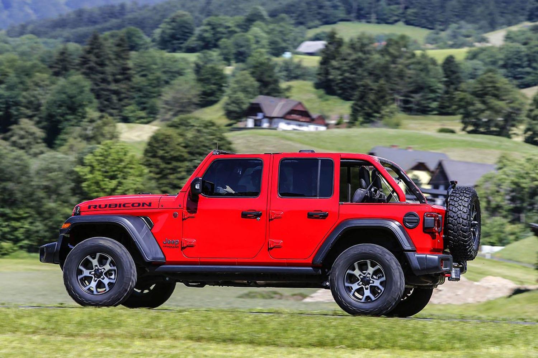Jeep Wrangler exterieur