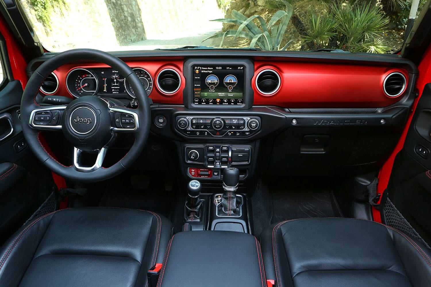 Jeep Wrangler interieur