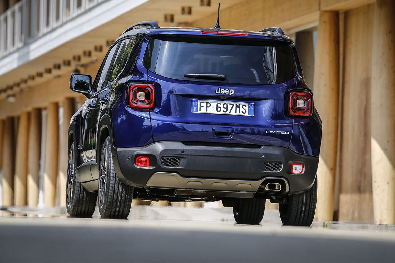 jeep renegade 2019 achterkant