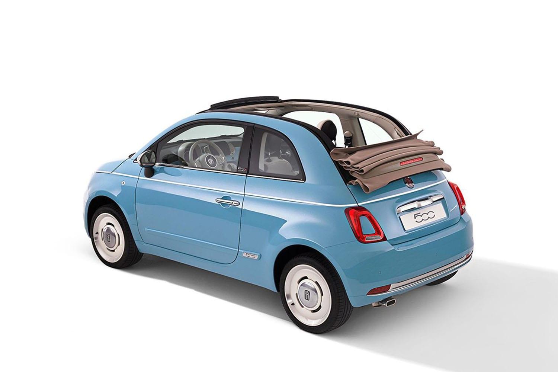 Fiat Spiaggina achteraanzicht