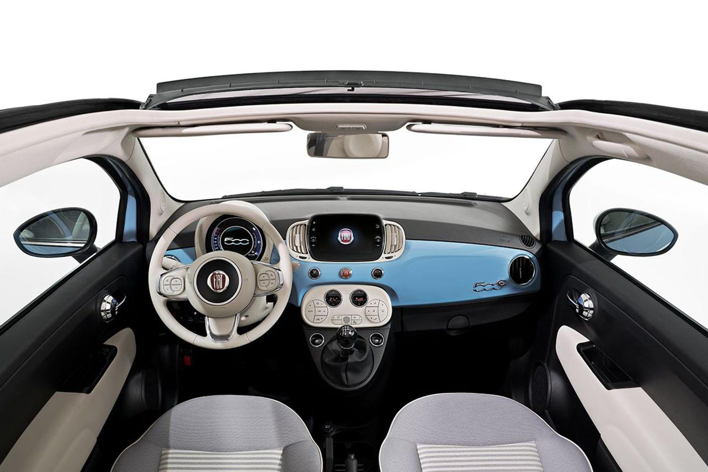 Fiat Spiaggina interieur