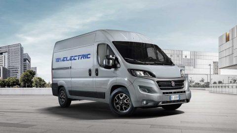 Afbeelding voor Fiat Ducato vernieuwd en elektrische variant komt in 2020