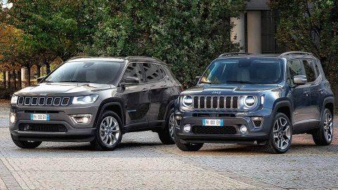 Afbeelding voor Jeep Renegade en Compass 4xe plug-in hybrid