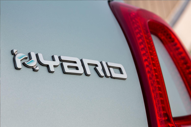 fiat 500 hybrid empleem